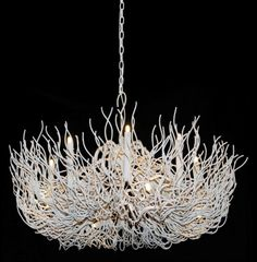 "12 LIGHT TWIG CHANDELIER :: DINING & BEDROOM CHANDELIERS <BR>(20""-34"" DIA.) :: Ceiling lights Toronto, Bath and vanity lighting, Chandelier lighting, Outdoor lighting and kitchen lights :: Union"
