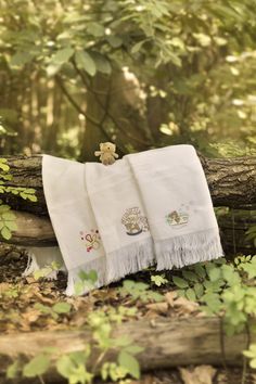 Junior Joy ® - Cotton - Embroidered Baby Shawls - Code No: Colours: White with 3 designs, Size/Cm: 120 x 120 Baby Shawl, Shawls, Joy, Colours, Cotton, Gifts, Design, Presents, Glee