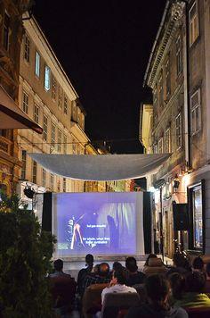 Outdoor Screening, Ljubljana City Center
