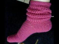 Socken häkeln einfach erklärt, Schritt für Schritt