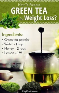 Tea Recipes For Weight Loss & Enhancing The Metabolism! - Today, we will know about the benefits of green tea and green tea recipes for weight loss.- Today, we will know about the benefits of green tea and green tea recipes for weight loss. Weight Loss Meals, Quick Weight Loss Tips, Weight Loss Drinks, Weight Gain, How To Lose Weight Fast, Losing Weight, Lose Fat, Reduce Weight, Loose Weight