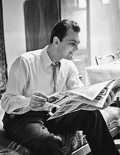 Юрий Яковлев у себя дома. 25 марта 1961 года.