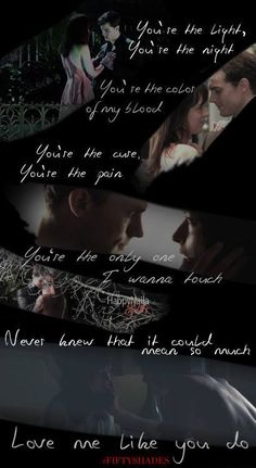 Fifty Shades of Grey Photo: Christian and Ana. Fifty Shades Of Grey Wallpaper, Fifty Shades Darker Quotes, Fifty Shades Series, Shades Of Grey Movie, Fifty Shades Movie, 50 Shades Darker, Jamie Dornan, Shade Quotes, Cristian Grey