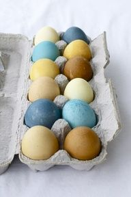 easy way to make natural dye for Easter eggs using food you already have in the kitchen