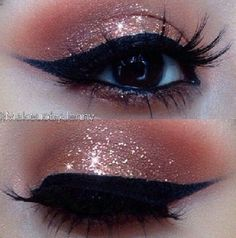 Copper / Glitter Eyeshadow