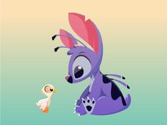 Disney's Stitch and the Ugly Duckling by Rogie King