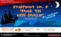 IWB Music: New World Symphony - An interactive listening map