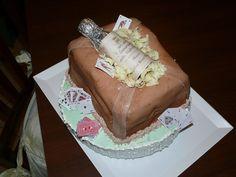Una dolce Bottiglia.... #CakeDesign @TortaBottiglia