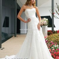 Jasmine Couture Wedding Dresses - Style T282