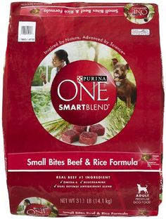 PURINA ONE 178560 One Smartblend BeefRice for Adult Dogs 311Pound *** Learn more by visiting the image link.