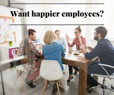 Employee morale is essential to your business and your bottom line. In this article, we'll give you 5 keys to improving employee morale and job satisfaction. Happy At Work, Get Happy, Happy Employees, Employee Morale, Job Satisfaction, Employee Appreciation, Workplace, Keys, Business