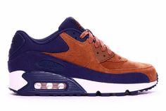 Nike Air Max 90 Premium - Ale Brown / Navy
