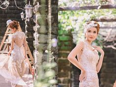 Bridal gown by Jazel Sy, set design by Moki Gray Wedding Gowns With Sleeves, Wedding Dresses, Wedding Blog, Cap Sleeves, Bridal Gowns, Beautiful Dresses, Set Design, Inspiration, Ph