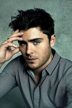 Zac Efron. Check out the website to see more