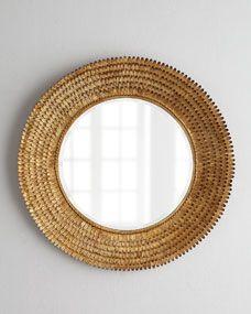 Regina-Andrew Design Round Mirror