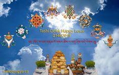 Tashi Delek Happy Losar from Riwotsegya Throma Buddhist Institute Happy, Canada, Ser Feliz, Being Happy