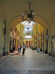 Black Eagle passage (1907) - Oradea city, www.romaniasfriends.com