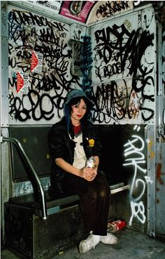 documenting the 70s golden age of nyc graffiti culture | read | i-D  lady Pink photo by Martha Cooper 1982