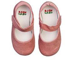Sapato Camurça Mary Jane Rosa Glitter - Paperdolls