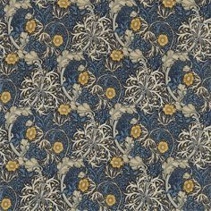 The Original Morris & Co - Arts and crafts, fabrics and wallpaper designs by William Morris & Company | Products | British/UK Fabrics and Wallpapers | Morris Seaweed (DM3P224470) | Archive III Prints