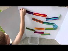 Craft Stick Marble Run | Frugal Fun For Boys