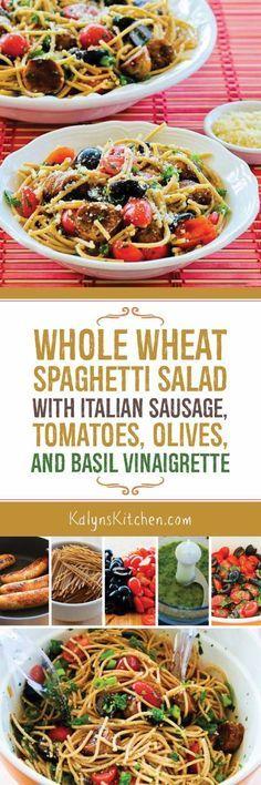 Best Whole Wheat Or 50 Percent Whole Wheat Spaghetti Recipe on ...