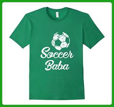 Mens Soccer Baba Shirt, Cute Funny Player Fan Gift Medium Kelly Green - Sports shirts (*Amazon Partner-Link)