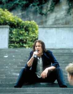 10 Things I Hate About You. Gorgeous piece of man. Amazing movie. Score!