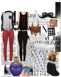 """""""cute outfit for church or just hanging out!"""" by amber-abeita ❤ liked on Polyvore"""