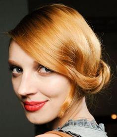 dior-model-red-hair-colour