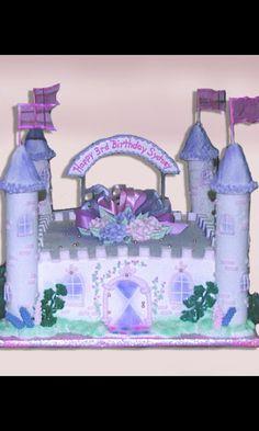 Birthday plaque cake