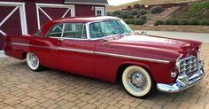 This 1956 Chrysler 300B in Regimental Red is sure to appeal if you like the combination of 'Forward Look' cars and brute power.