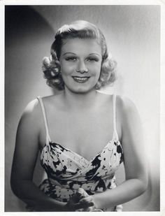 Jean Harlow, Saratoga (M-G-M, 1937), photo by George Hurrell