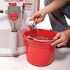 10 vital home maintenance tasks.  Drain Sediment From Your Water Heater or Expect a Shortened Life Span