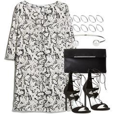 Style #9042 by vany-alvarado on Polyvore featuring moda, MANGO, Stuart Weitzman, BCBGMAXAZRIA, ASOS and Topshop