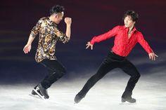 (左から)高橋大輔、宇野昌磨 THE ICE 2016|フォトギャラリー|フィギュアスケート|スポーツナビ