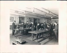Photo physics lab at Westinghouse Technical