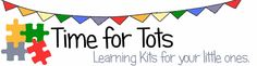 Save time with Time for Tots - Hands on activities that make learning fun!