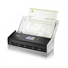 Escaner compacto Brother ADS1600W A4 Color pantalla LCD