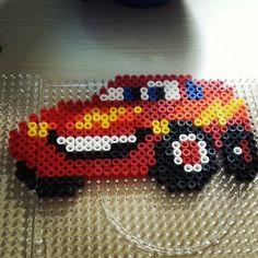 McQueen Cars hama perler beads by madurska