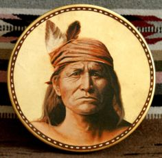 Handmade Hand Painted Native American Style Drum  by StuARTdrums, $485.00
