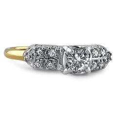 The Lentia Ring #BrilliantEarth
