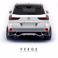 Lexus body kit VERGE soon will begin selling on Behance Lexus Sport, Lexus Lx570, Lexus Cars, Best Suv Cars, Best Luxury Cars, Toyota Cars, Toyota Hilux, Lamborghini, Ferrari