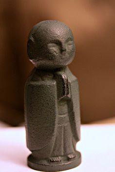 Jizo Bodhisattva, the protector of children. (especially deceased children)