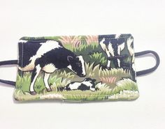 Farm cows  reversible door latch cover door by FigTreeHillCrafts