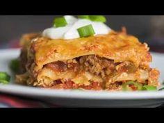 Taco Lasagna – 12 Tomatoes