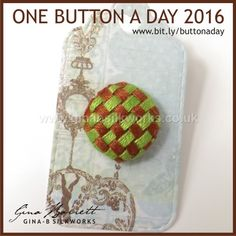 Day 229: Basged #onebuttonaday by Gina Barrett