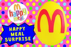 Rare vintage Happy Meal toys! Toy Box Magic presents: a giant Play Doh covered egg filled with rare McDonalds happy meal toys! These happy meal toys are vintage Mighty Minis trucks and are super awesome. Very rare toys! Watch us open them and try them out!  Subscribe to our ♥awesome♥ channel here: https://www.youtube.com/toyboxmagic