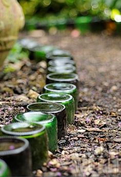 Bottle border- Annemarie do we have enough for my garden between us :)