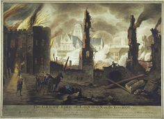 A 'view of Ludgate on fire.' Artist Jan Griffier. Engraver William Birch, 1792. Why did the plague disappear at the end of 1665? Were the survivors immune? Was there a change in climate? Improved sanitation? The black rat, carrier of the plague flea, declined in numbers and was replaced by the brown rat. Did the Great Fire of September 1666 destroy the plague? It seems unlikely as the plague had disappeared months before the fire.